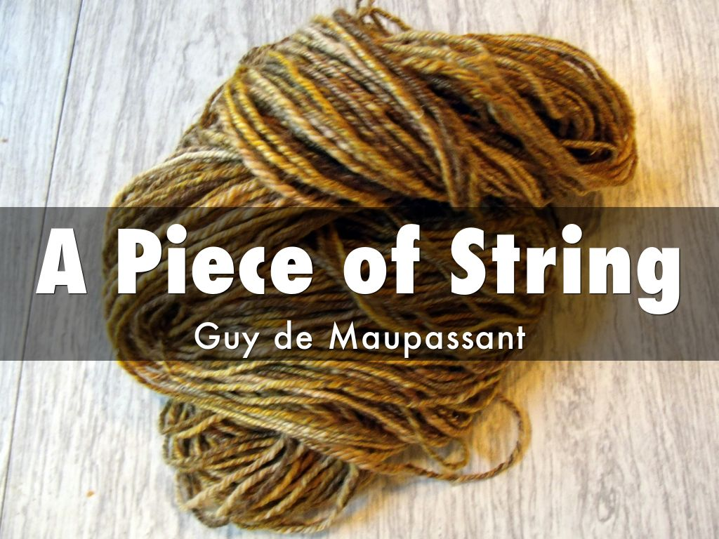 a piece of string short story