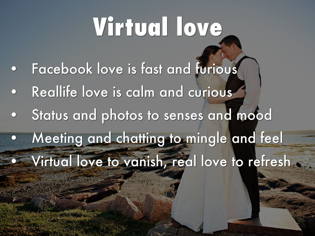 virtual love meaning