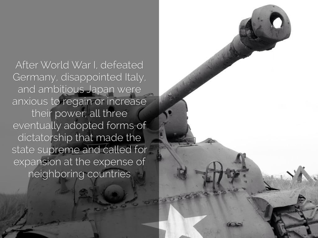 What Caused World War 2 By Nate S