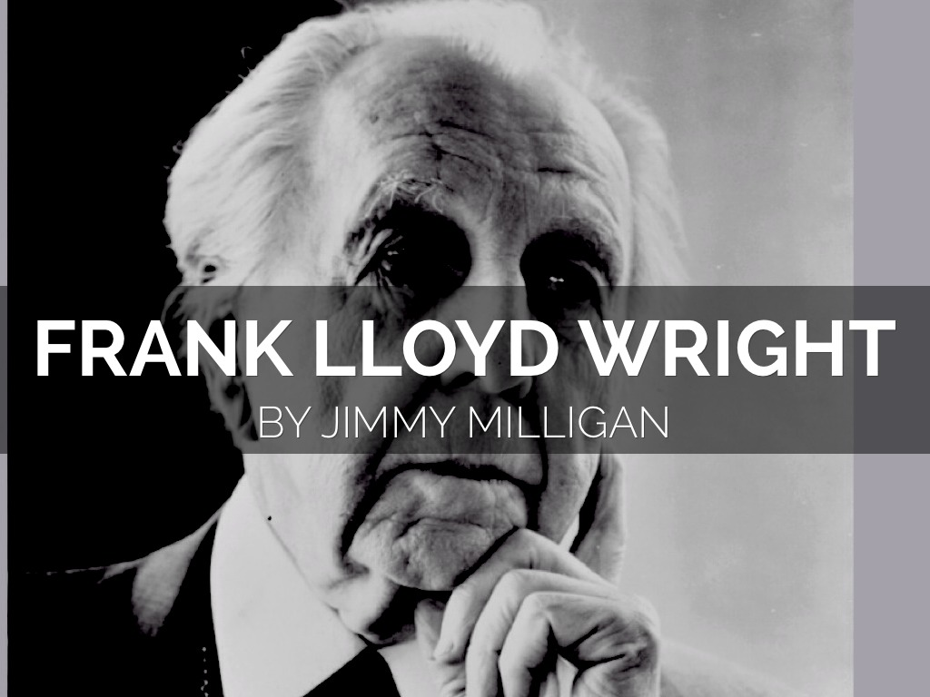 Frank lloyd wright by jimmy milligan for Frank lloyd wright parents