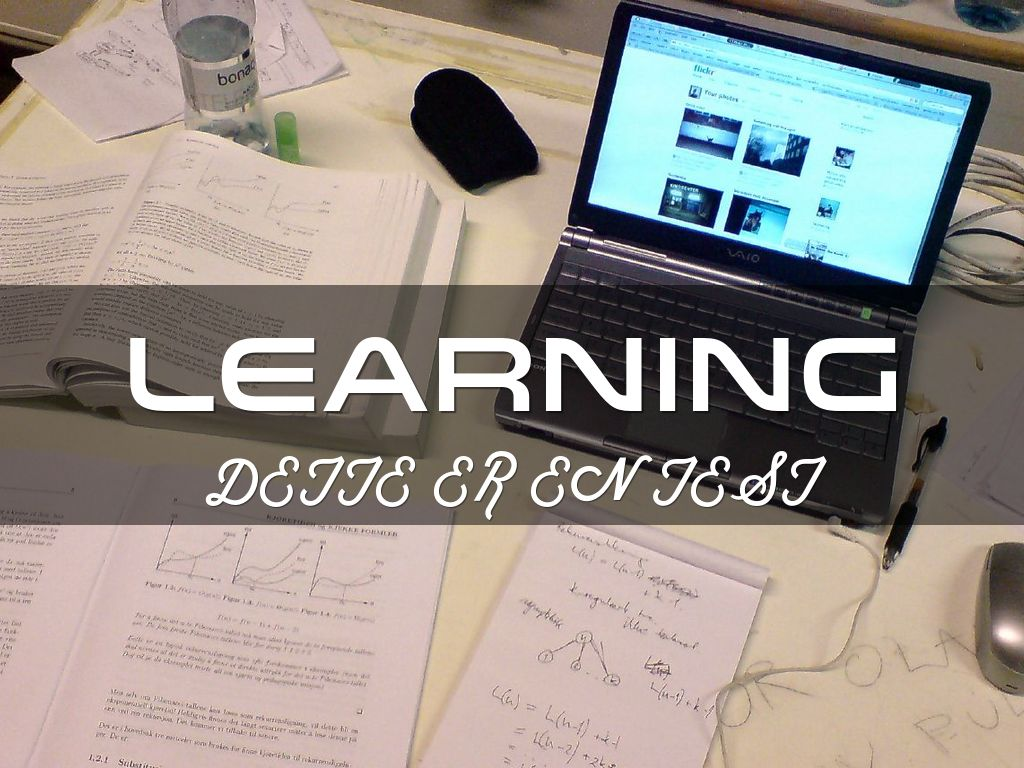 Learning 1