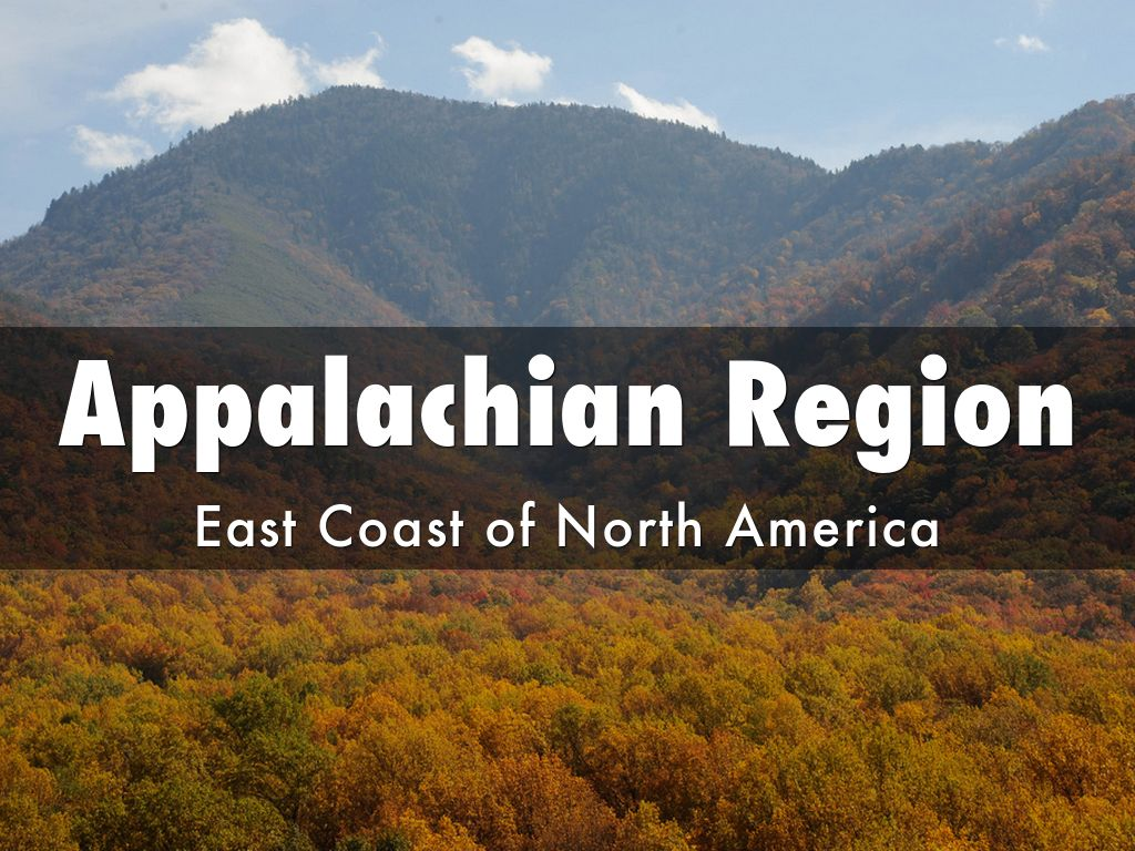 a look at the appalachia region Special challenges and issues in appalachian communities  • appalachia is seen as a distinct region with 23  • mountain counties' health statistics look more.