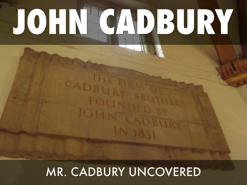john cadbury the cadbury chocolatier Cadbury chocolates our history and the christian connection john cadbury 'what to bring when you're told not to bring a thing' it's cadbury favourites of course yep, the big purple box with its treasure of miniature confections inside - chocolates as uniquely australian as uluru or a kangaroo.