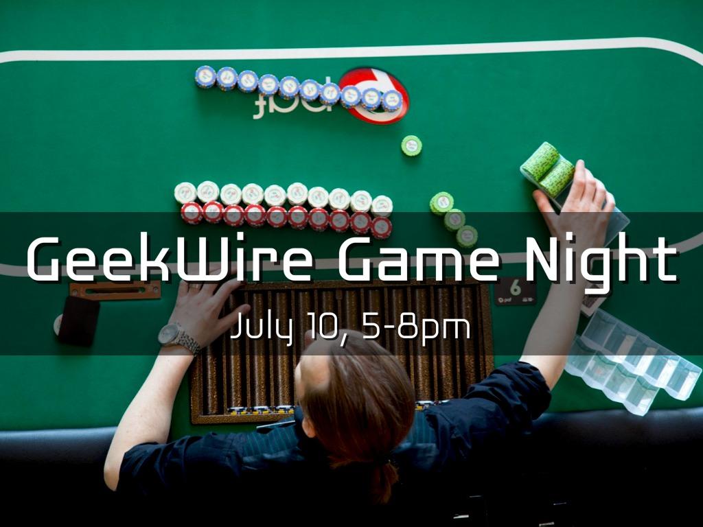 GeekWire Game Night
