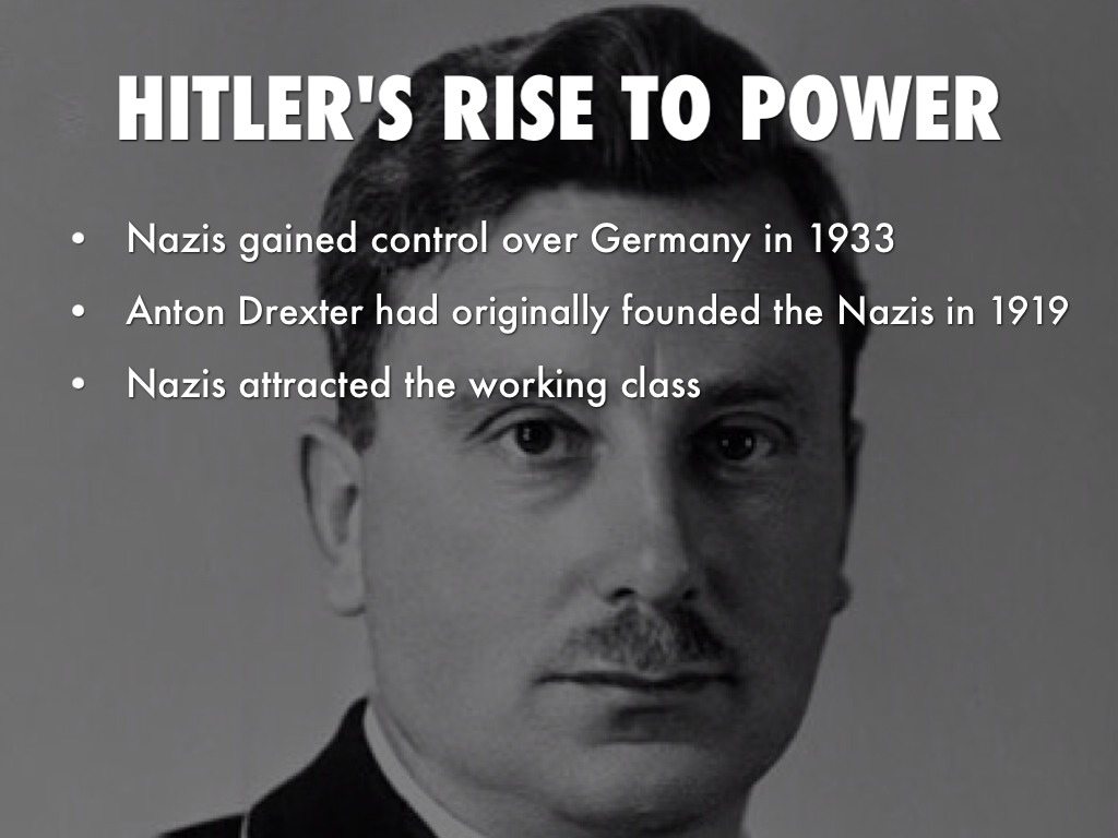 rise to power hitler Adolf hitler: adolf hitler, leader of the nazi party and fuhrer of germany who initiated world war ii and was responsible for the holocaust next page rise to power.
