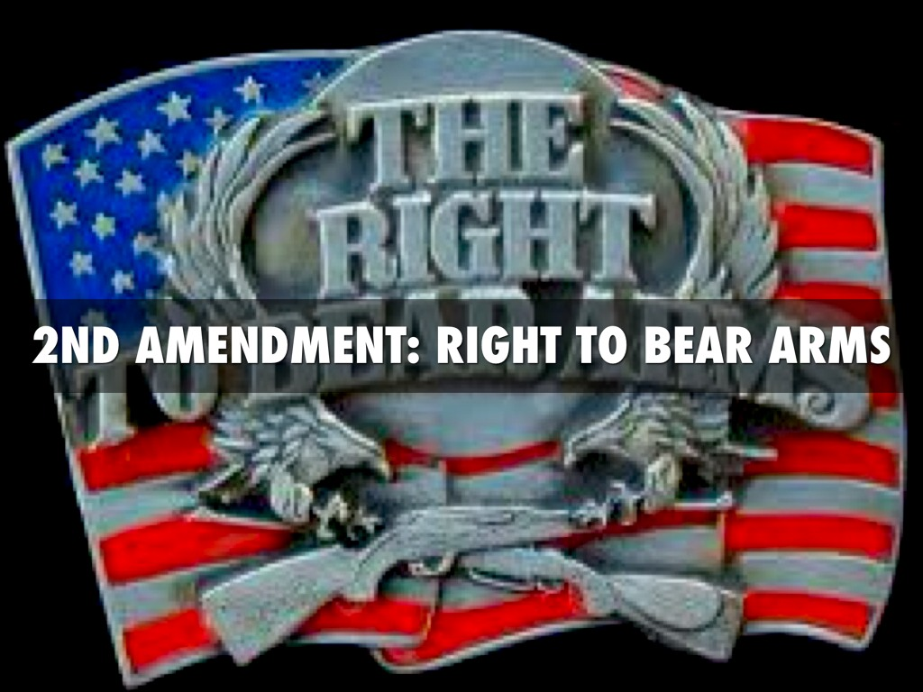 an argument in favor of the right to bear arms in the united states Right to bear arms research papers  the united states constitution seems to support an individual right to keep and bear arms your right to bear arms research.