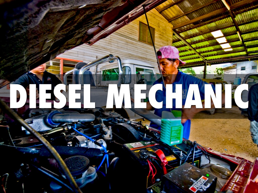 Diesel Mechanic by Nathan Taylor