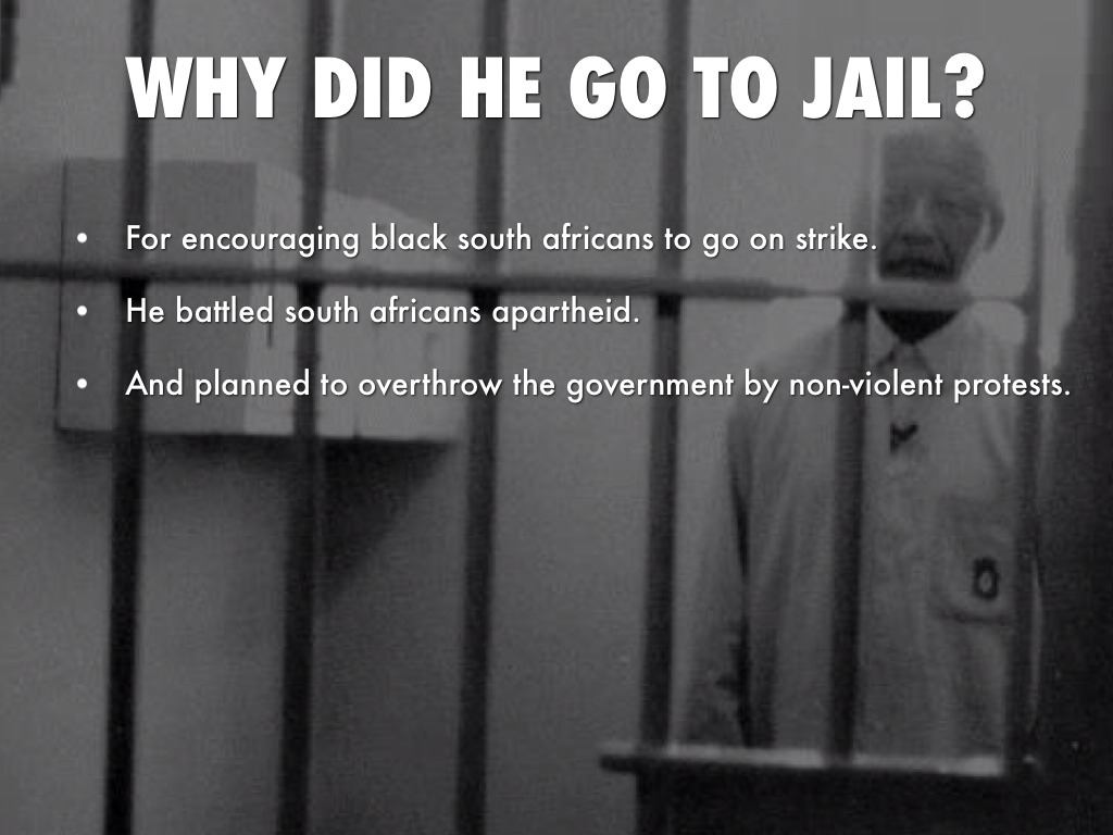 What Did Mandela Go To Prison For