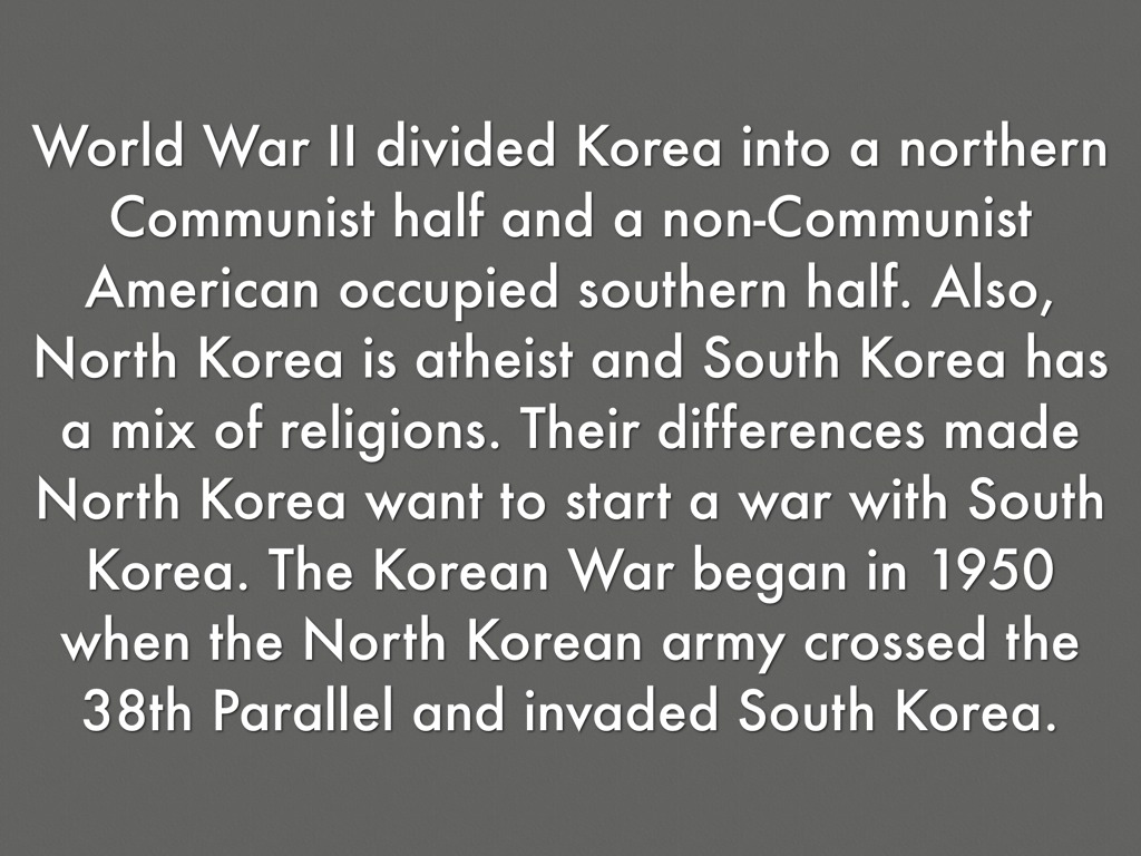 a description of the korean war in 1950 1953 south korea as invaded by north korea Korean war definition, the war, begun on june 25, 1950, between north korea, aided by communist china, and south korea, aided by the united states and other united nations members forming a.