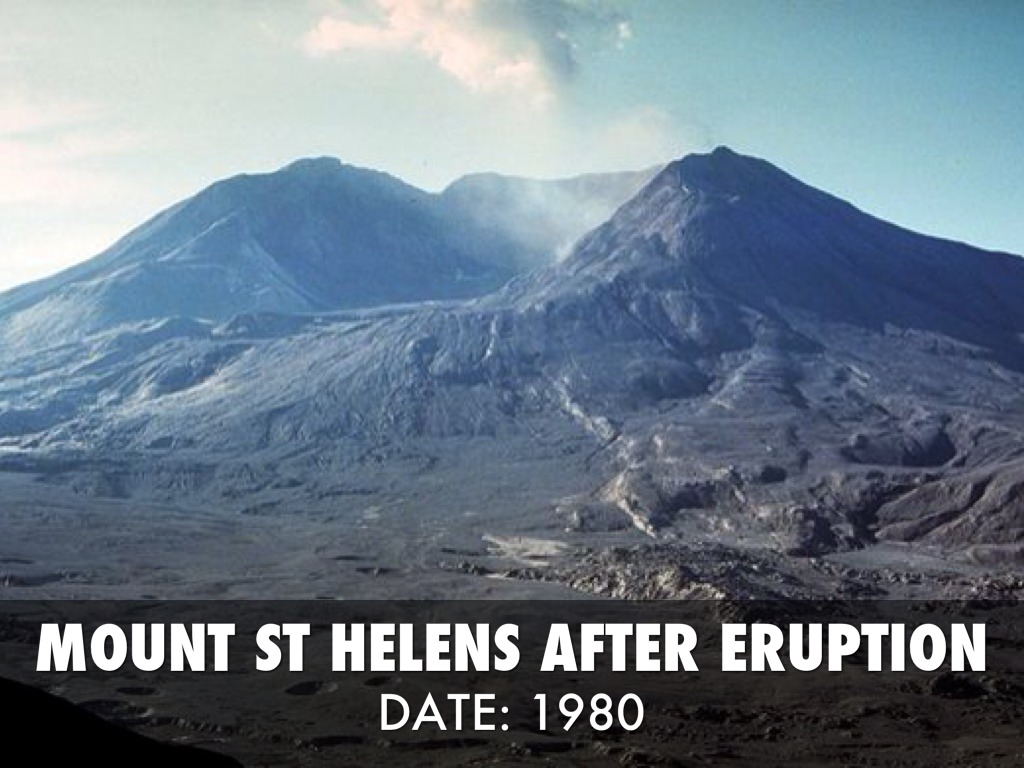 30 Years Later the Lessons from Mount St. Helens