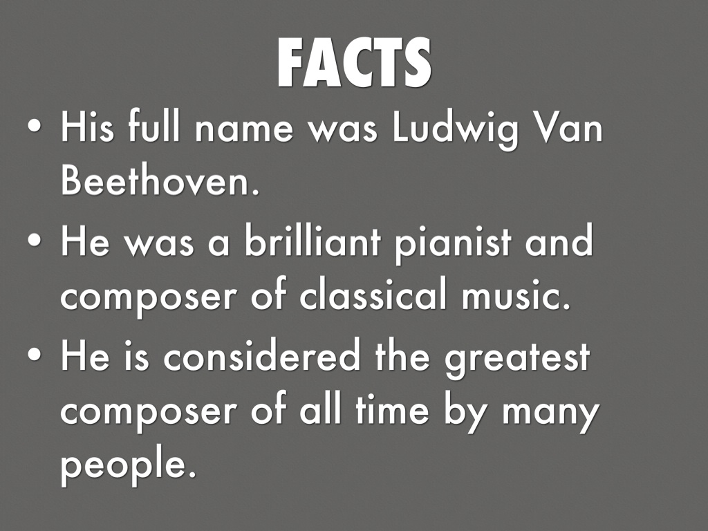 a biography of the early life and influence of ludwig van beethoven Beethoven's influence on modern musical thought ludwig van beethoven is undoubtedly one of the most beatles, a day in the life, music influence, rock.