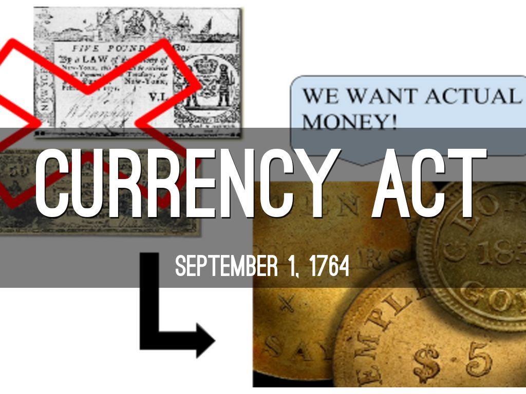 Image result for currency act of 1764