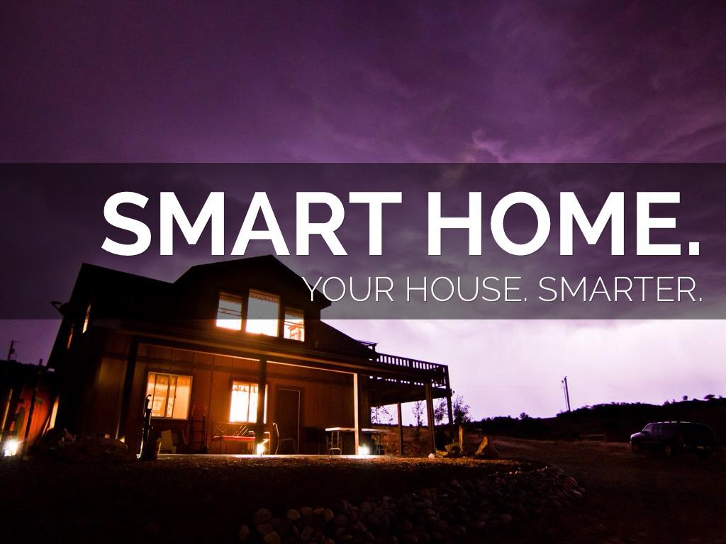 Smart home project presentation