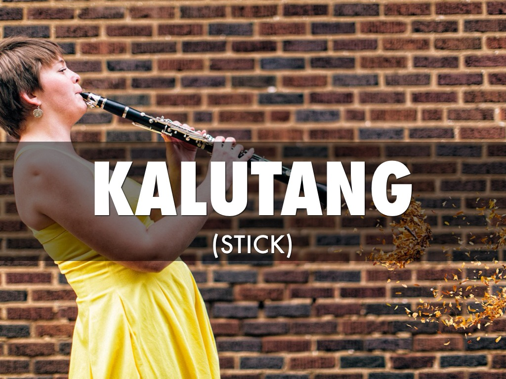 kalutang instrument meaning