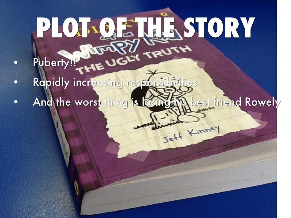 diary of a wimpy kid the ugly truth essay A description of tropes appearing in diary of a wimpy kid rodrick when he attempts to write an essay dad: diary of a wimpy kid the ugly truth.