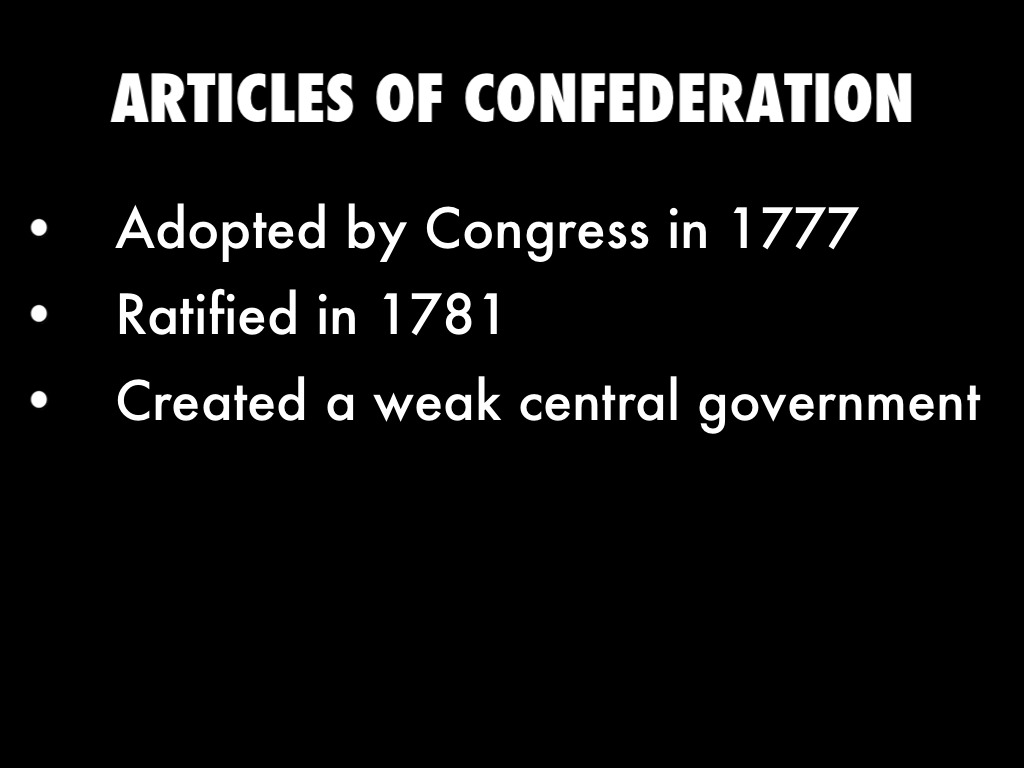 articles of confederation adopted by the The articles of confederation agreed to by congress november 15, 1777 ratified and in force, march 1, 1781 preamble to all to whom these presents shall come, we the undersigned delegates of the states affixed to our names send greeting.