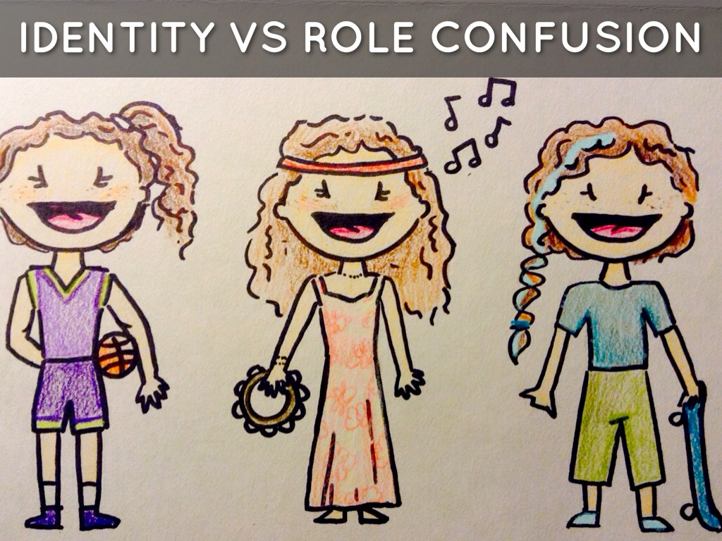 identity vs confusion Teens and peer relationships angela oswalt the developmental theorist, erik erickson, described this developmental step as a crisis of identity vs identity confusion but oftentimes, as teens experiment with their identity.