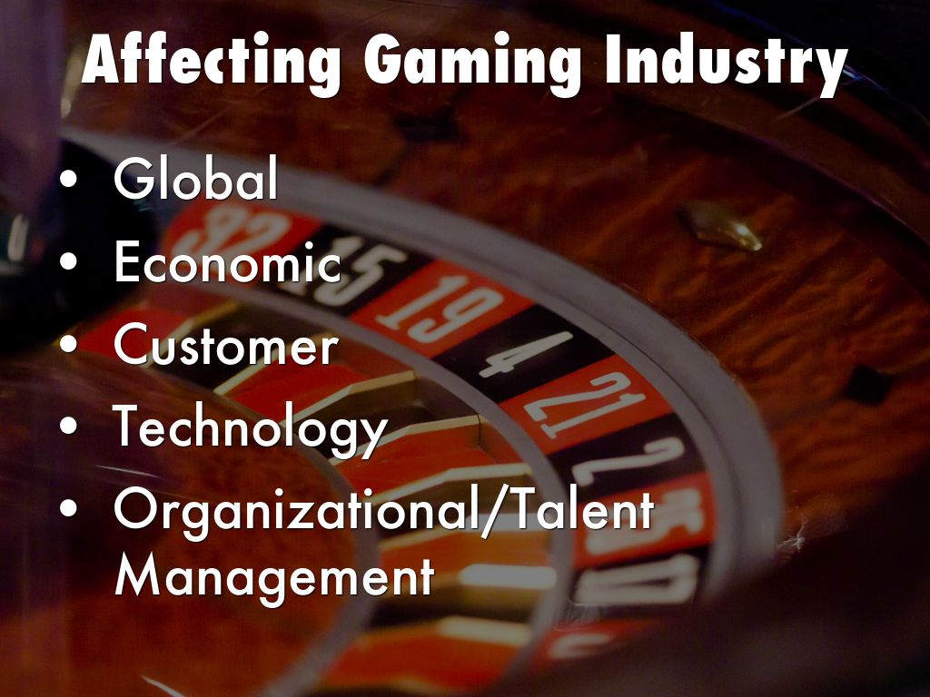 forces affecting the gaming industry Threat of new entrants | porter's five forces model threat of new entrants | porter's five forces if the industry growth has been slow or has slowed down.