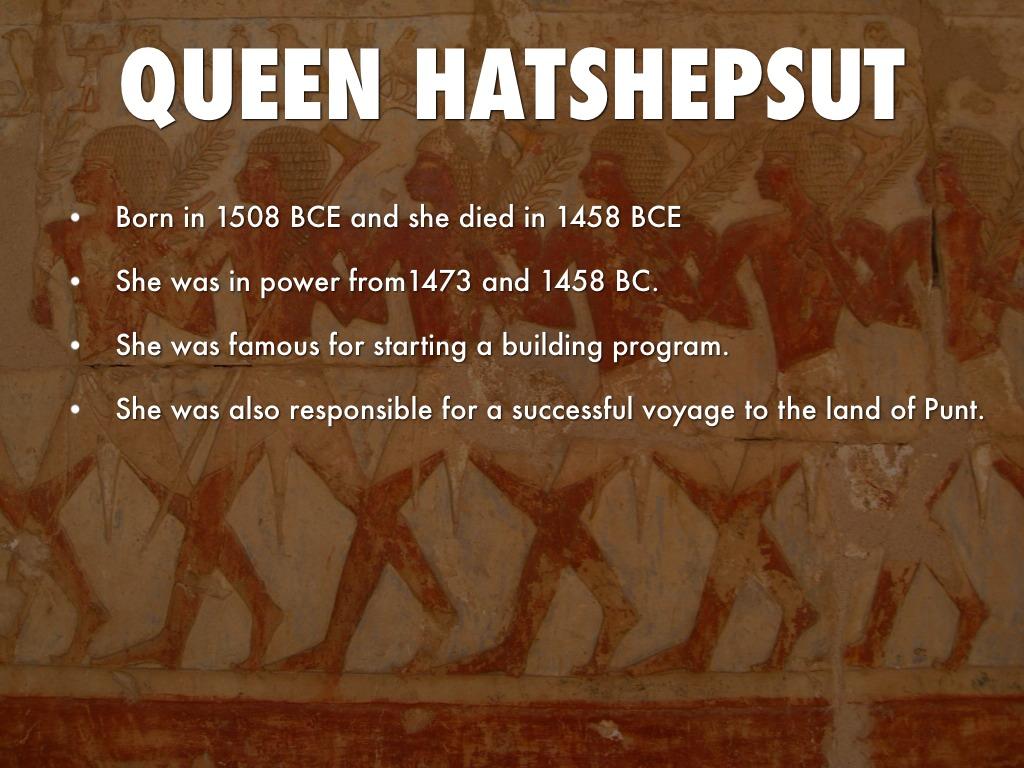 hatshepsut building program