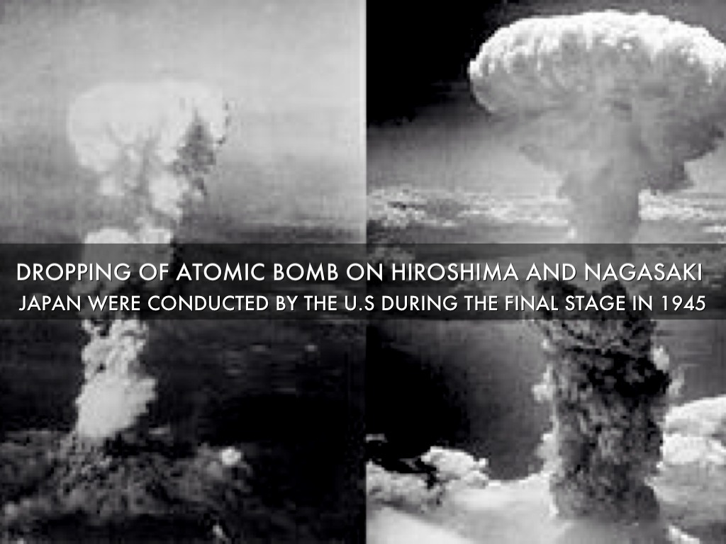 an analysis of atomic bombs on hiroshima and nagasaki
