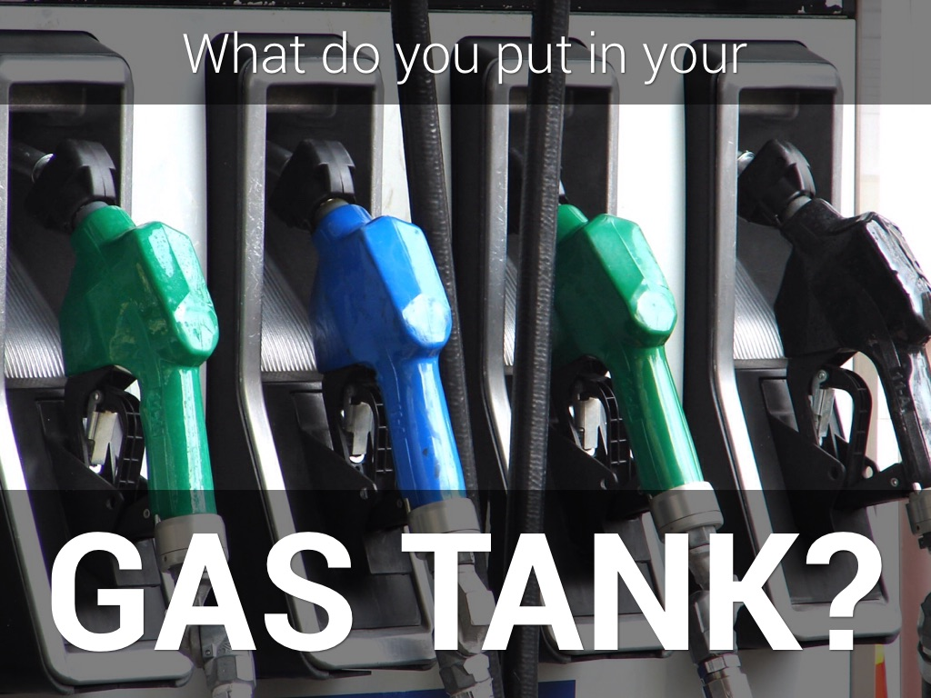 Spiritual gas tank