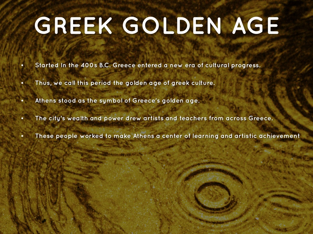 an analysis of the golden age of athens greece Conclusion: so what was the result of the golden age of athens athens prospered and humanity advanced but what about the rest of greece the forced subjects of the delian league and more.