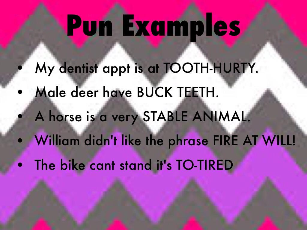 Types of verbal humor