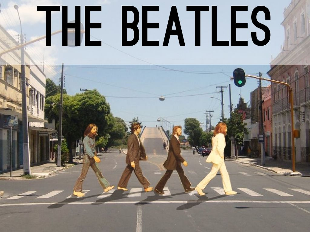 The Beatles By Fabio Almada Torres