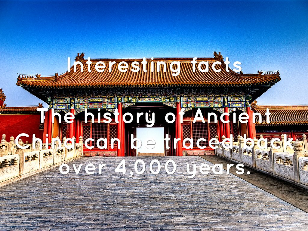 ANCIENT CHINA by Grayson Goldstein