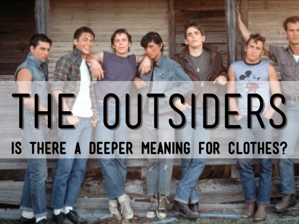 the outsiders clothing by kharyl judith
