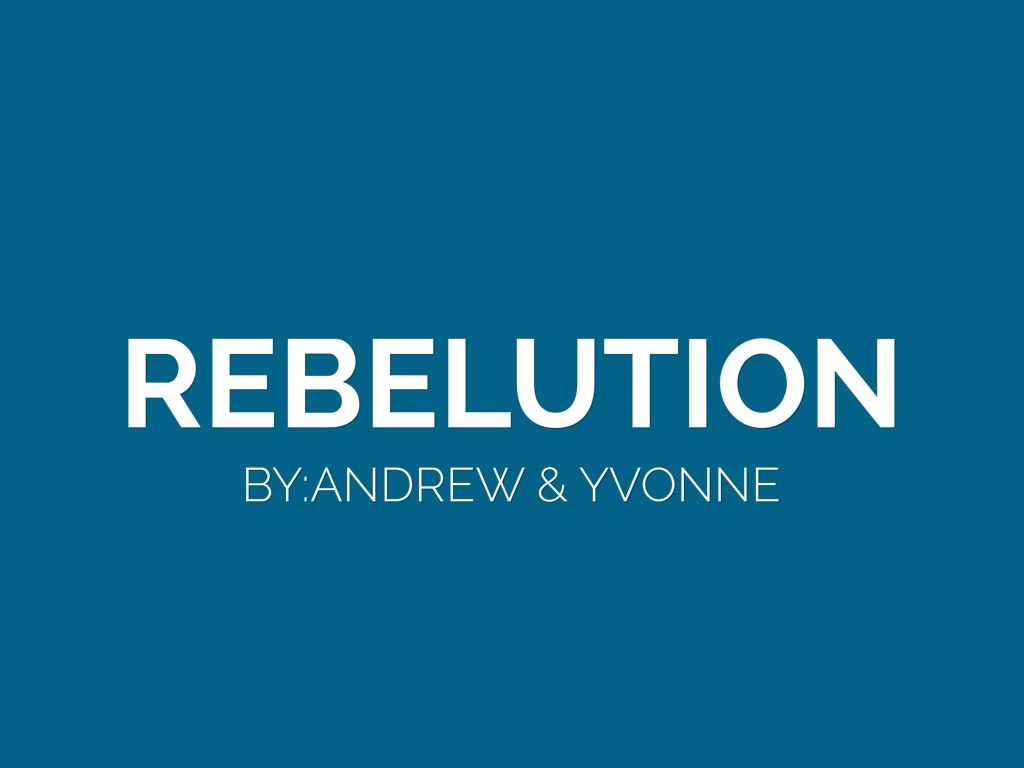 Rebelution By Yvonne Pacheco