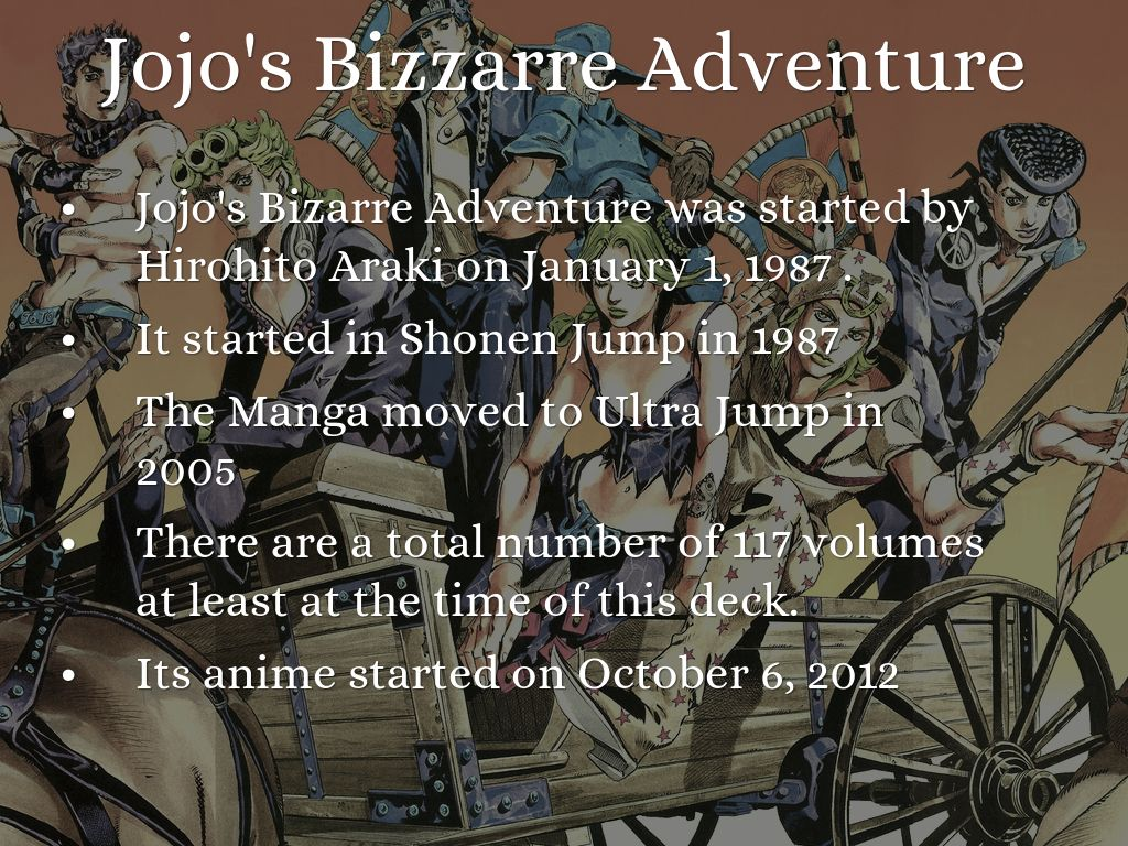 History of Jojo's Bizarre Adventure's Music References