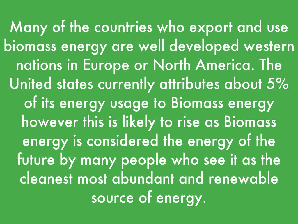 Biomass by Josh Apple