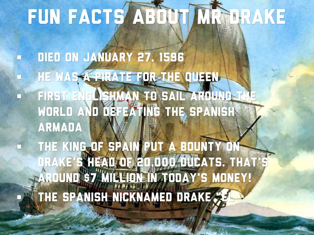 Sir francis drake by fredrick labranche by fredrick for Fun facts about drake