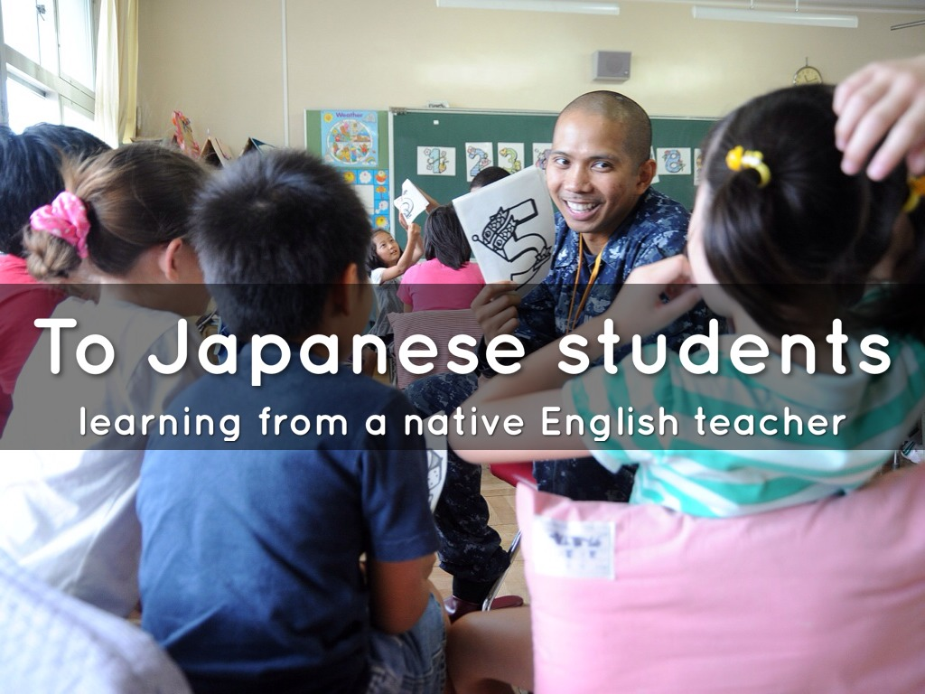 how to teach english to japanese students