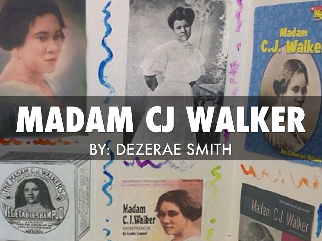 madame cj walker essay