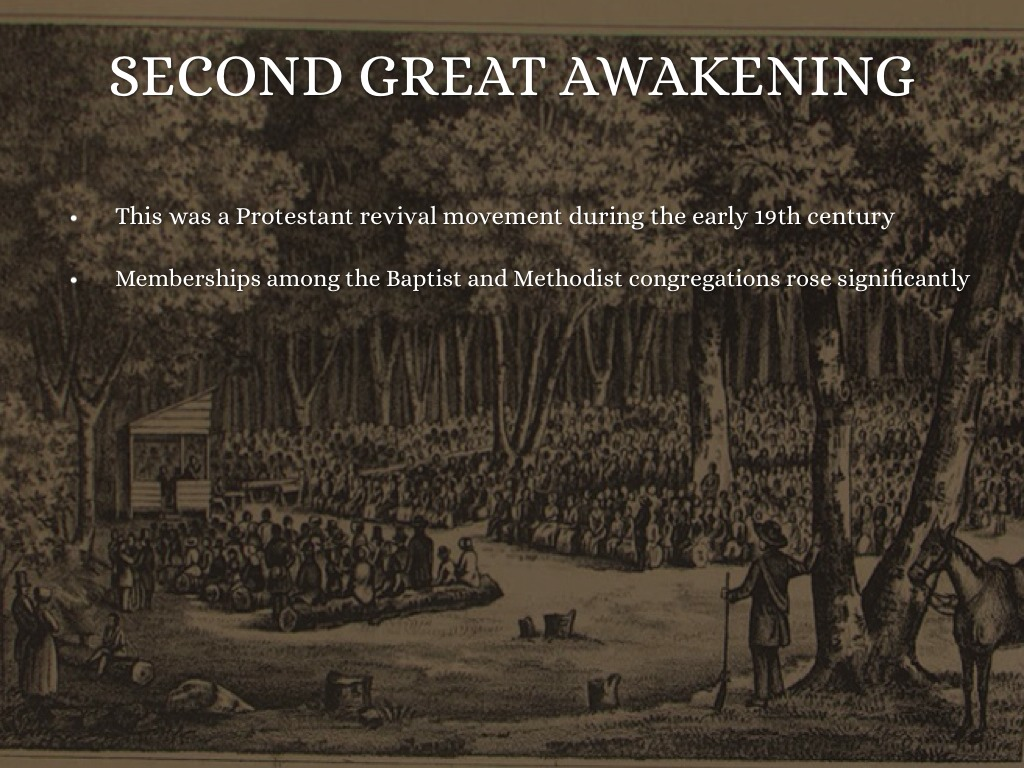 the rise of the second great awakening If the great numbers of converted people flooding into the churches had been the only result of the second awakening, that would have been satisfactory but this awakening is notable for more than that.