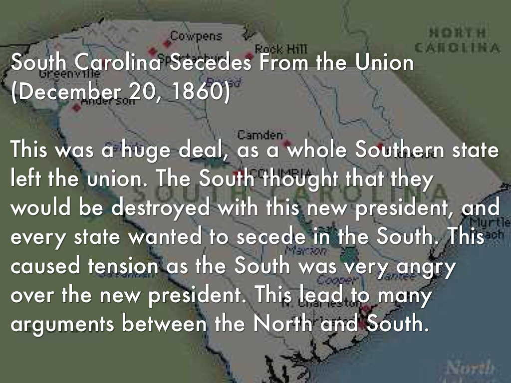 the south secedes Texas secession facts printer-friendly pdf version • doesn't the texas constitution reserve the right of texas to secede • didn't the outcome of the civil war prove secession is not an option for any state to coerce the south back into subjugation to northern control.