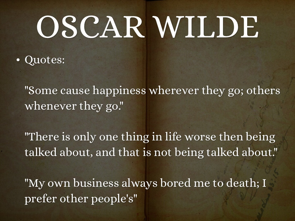oscar wilde aestheticism essay Essays and criticism on oscar wilde - wilde, oscar oscar wilde wilde, oscar - essay wilde adopted such aestheticism as a way of life.