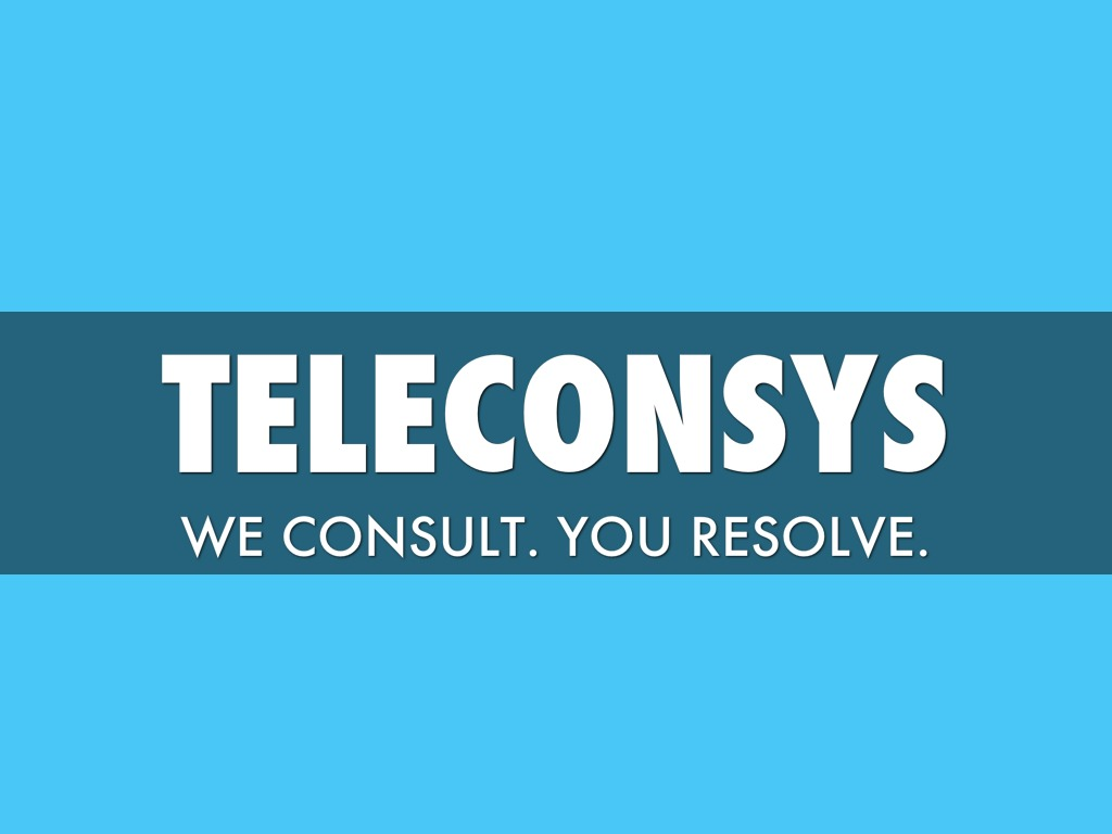 Teleconsys In Pillole