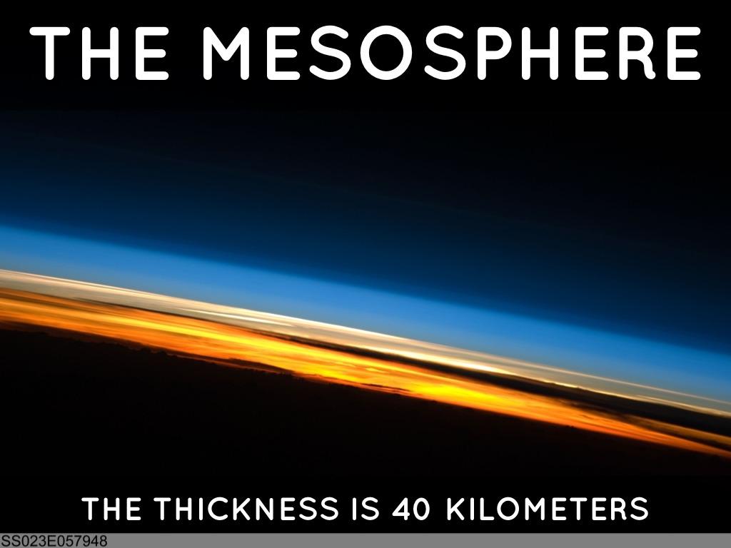 Mesosphere: The Presentation by Jacob Orloff