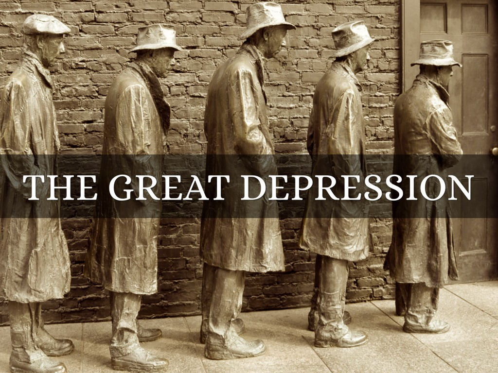 the great depression by john kalu the great depression