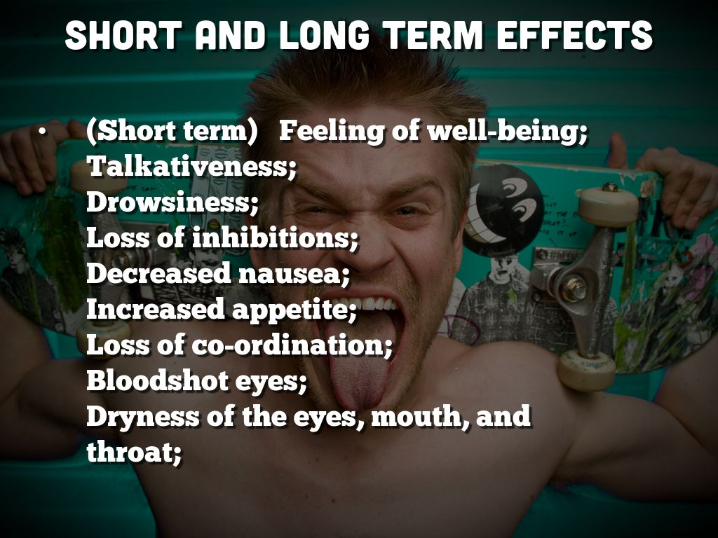 short term and long term effects Teens resources the substances alcohol short and long term effects alcohol affects you in the short term, in the long term, and while driving alcohol and driving alcohol is a depressant that affects your vision, coordination, reaction time, multitasking ability, judgment, and decision-making.
