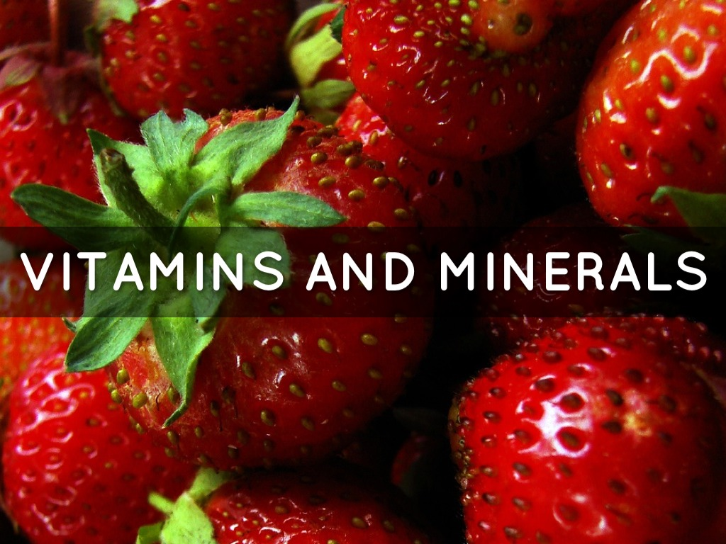 Vitamins And Minerals by Holly Couch