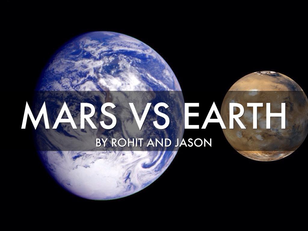 Earth vs Mars by Sunny Punjani
