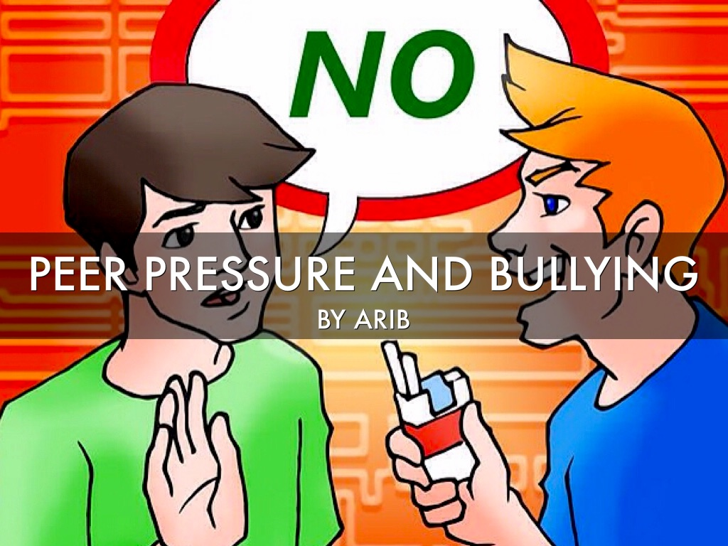 peer pressure awareness live above the We often think that we have far more control over our actions than we really do according to a new study, peer pressure has the power to weaken our.
