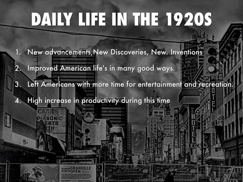 daily life in us 1920 1935 Easily share your publications and get them in front of issuu's millions of monthly readers title: daily life in the 1920's, author: meg daily life in the.