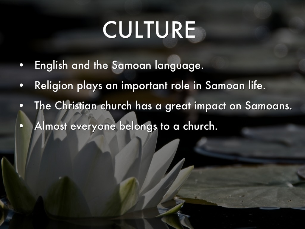 an overview of the samoan language