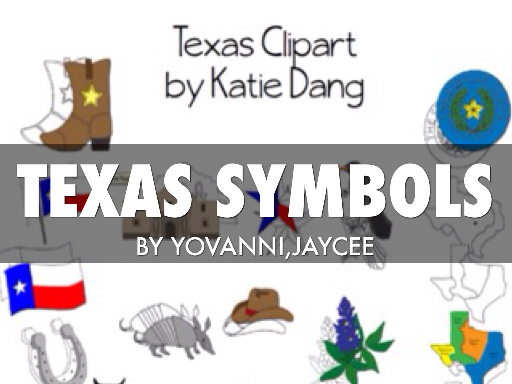 Texas Symbols By Connie Thompson