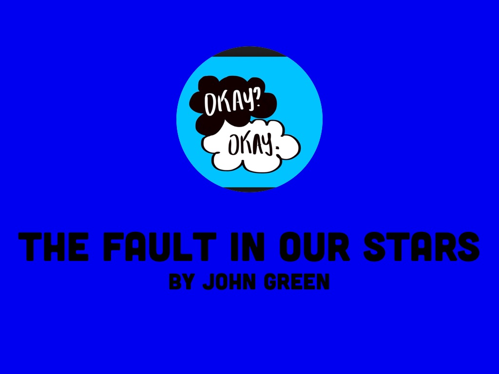 The fault in our stars by reanna miller presentation outline ccuart Image collections